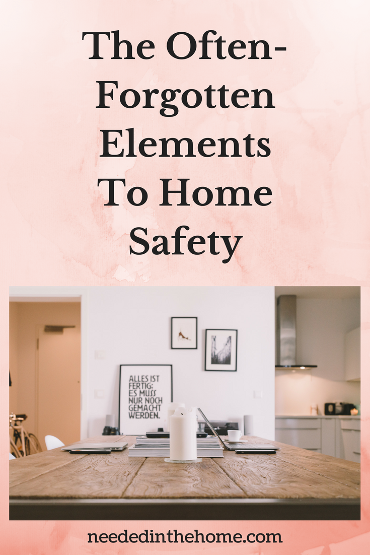 Elements to home safety - The Often-Forgotten Elements To Home Safety dining room table candle decor neededinthehome