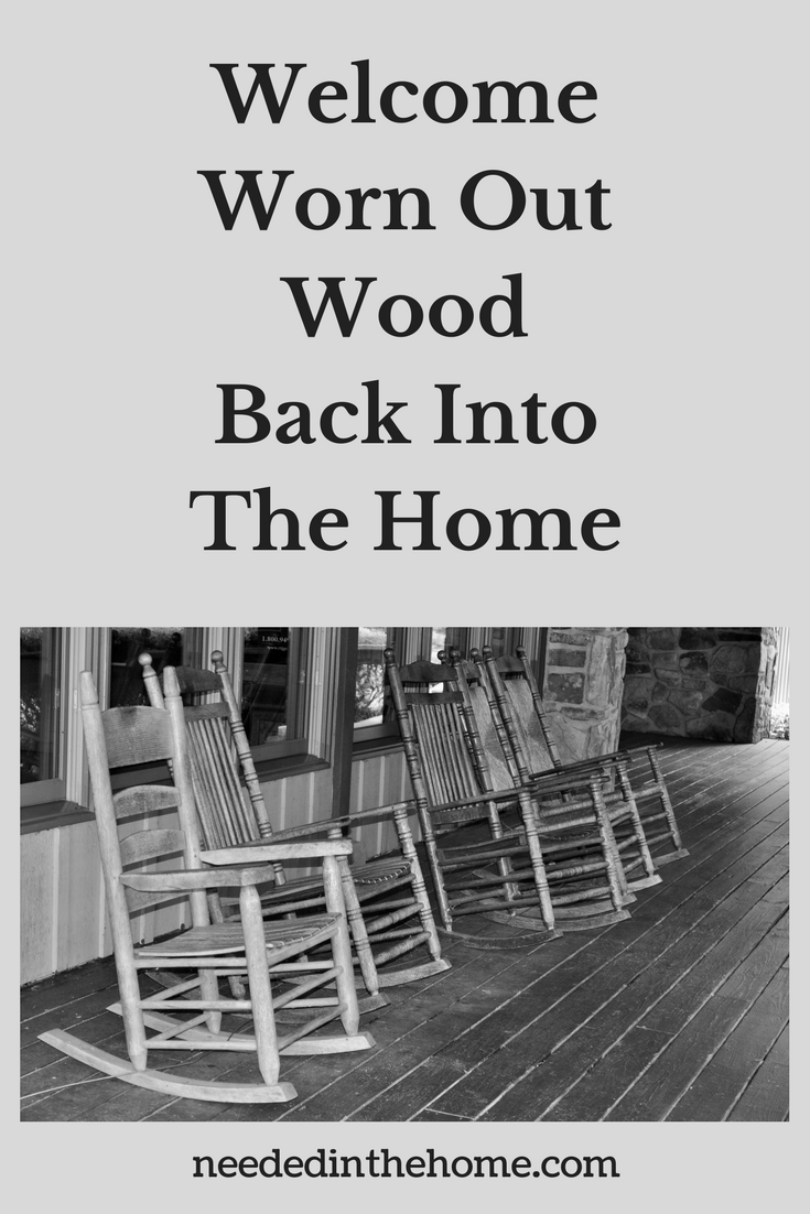 Restoring wood furniture / Welcome Worn Out Wood Back Into The Home wooden rocking chairs neededinthehome