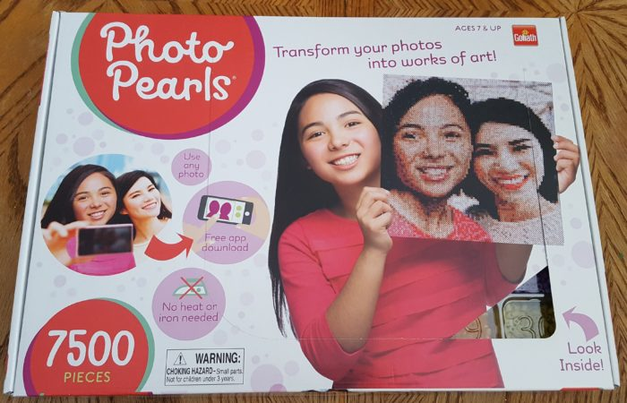 Goliath Games: Photo Pearls 7500 pieces transform your photos into works of art!