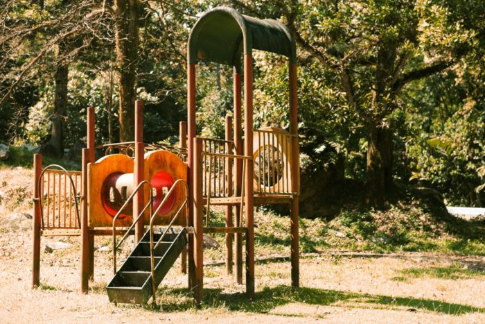 Moving your family abroad playground