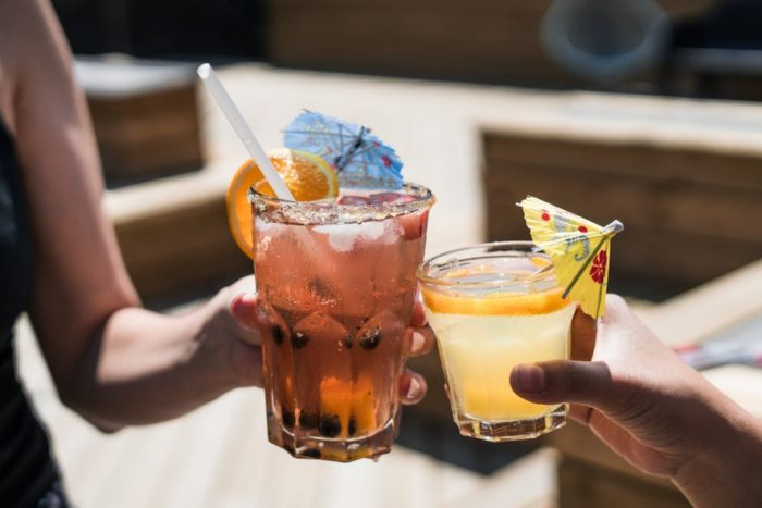 Summer home comort iced tea lemonade cheers