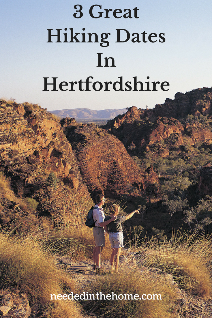 3 Great Hiking Dates In Hertfordshire image couple on a hike neededinthehome