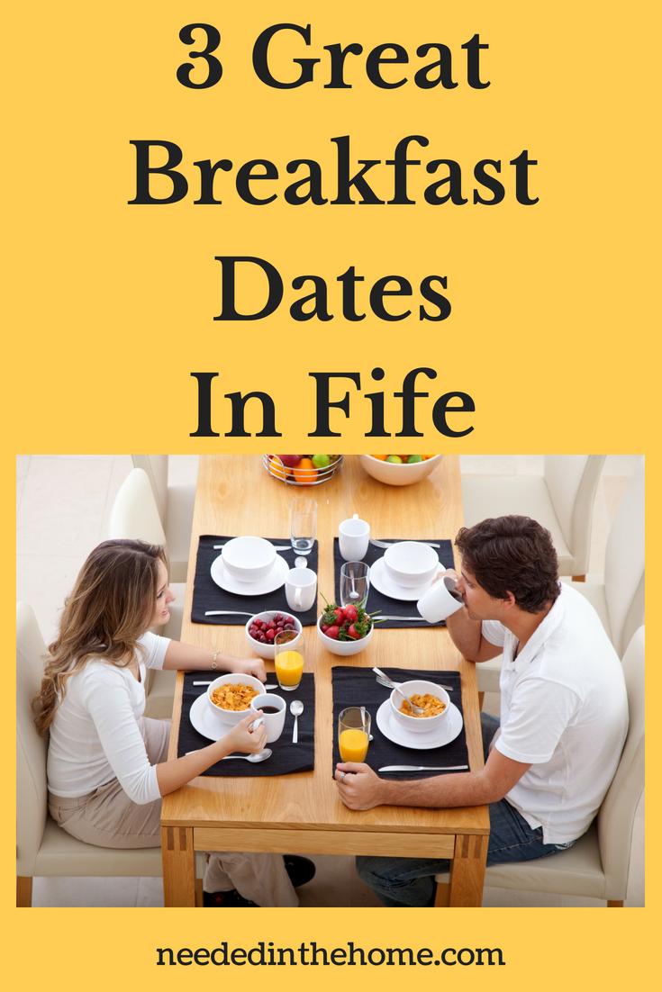 3 Great Breakfast Dates In Fife image couple eating breakfast in a restaurant neededinthehome