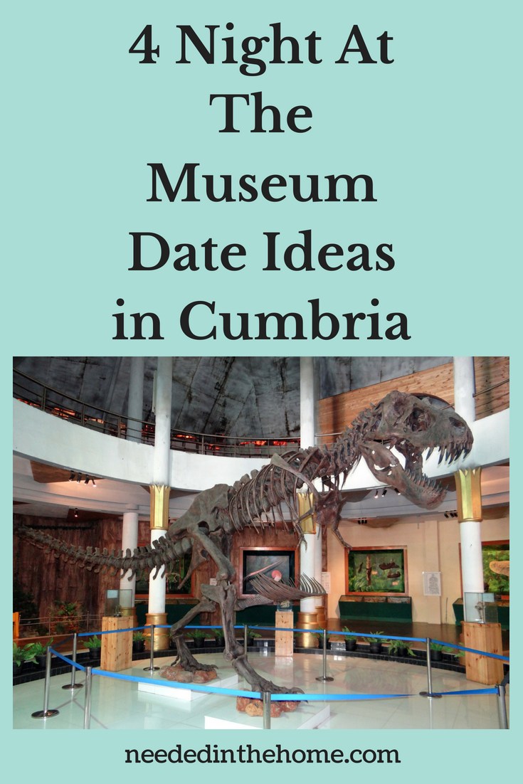 4 Night At The Museum Date Ideas in Cumbria image dinosaur bones display at museum neededinthehome