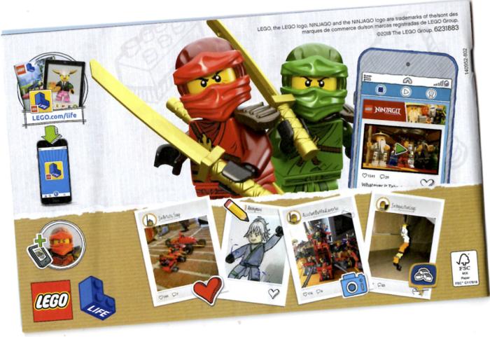 Lego Instruction Manual artist