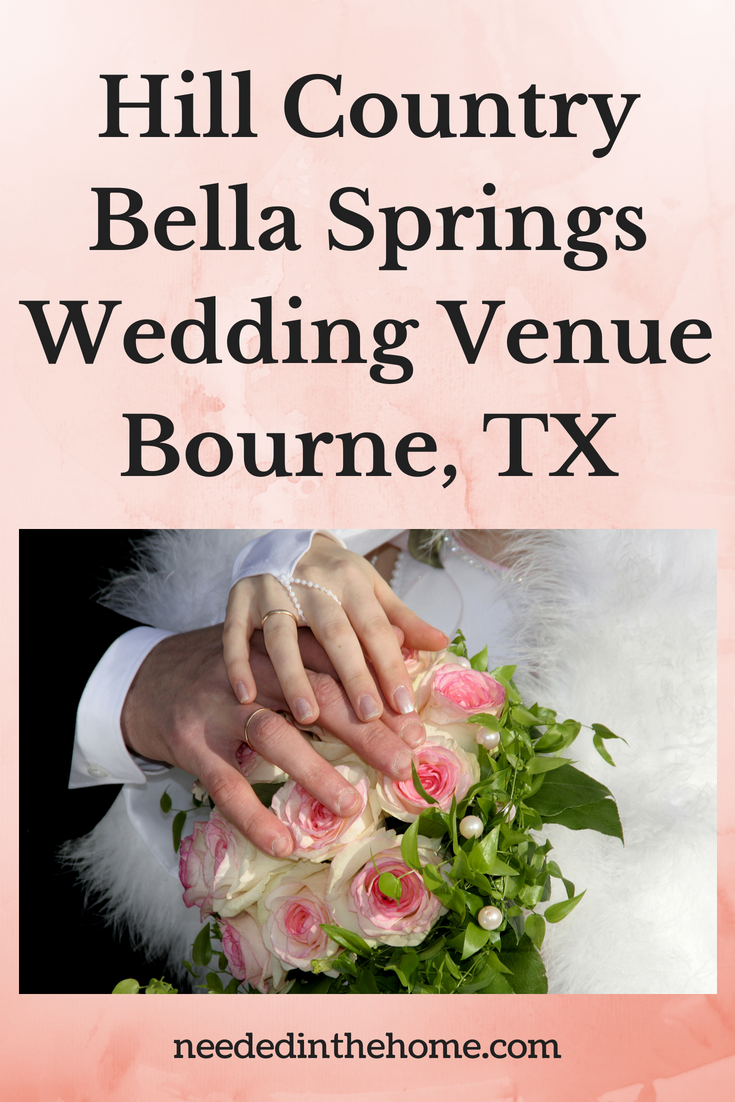 Hill Country Bella Springs Wedding Venue Boerne, Texas image bride's and groom's hands on flowers neededinthehome