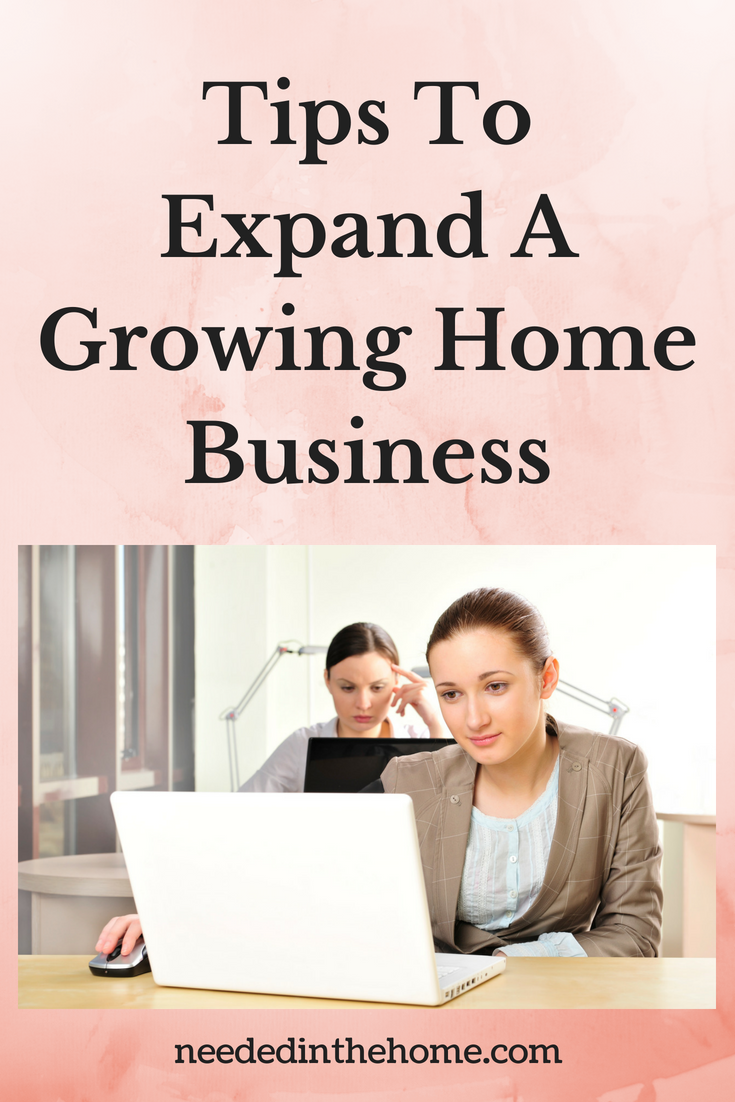 Tips To Expand A Growing Home Business image two women working on laptops neededinthehome