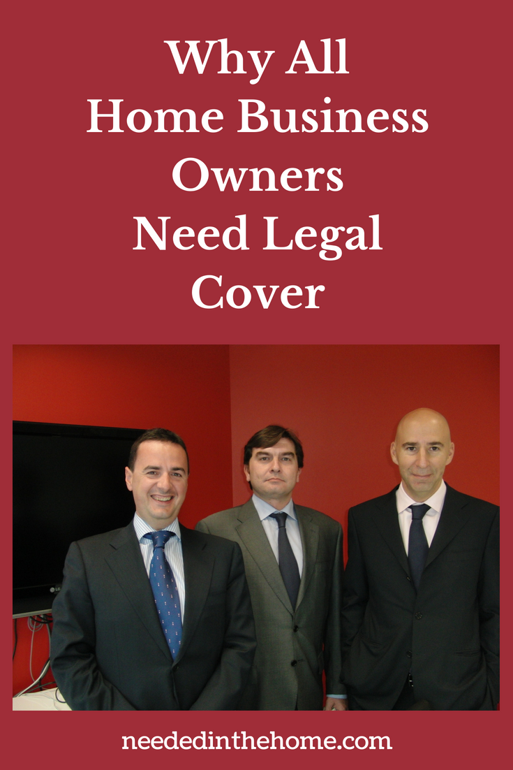 Why All Home Business Owners Need Legal Cover image of lawyer team neededinthehome