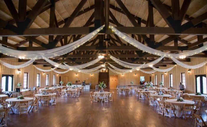 Bella Springs Wedding Venue image interior reception hall Hill Country