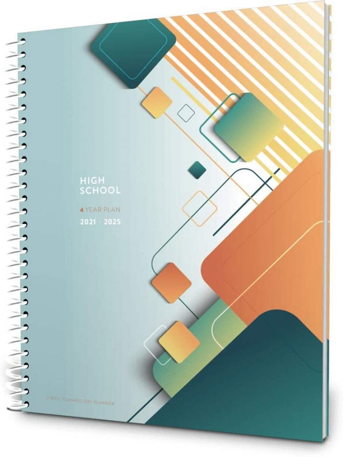 Homeschool lesson planners high school 4 year plan 2021 to 2025
