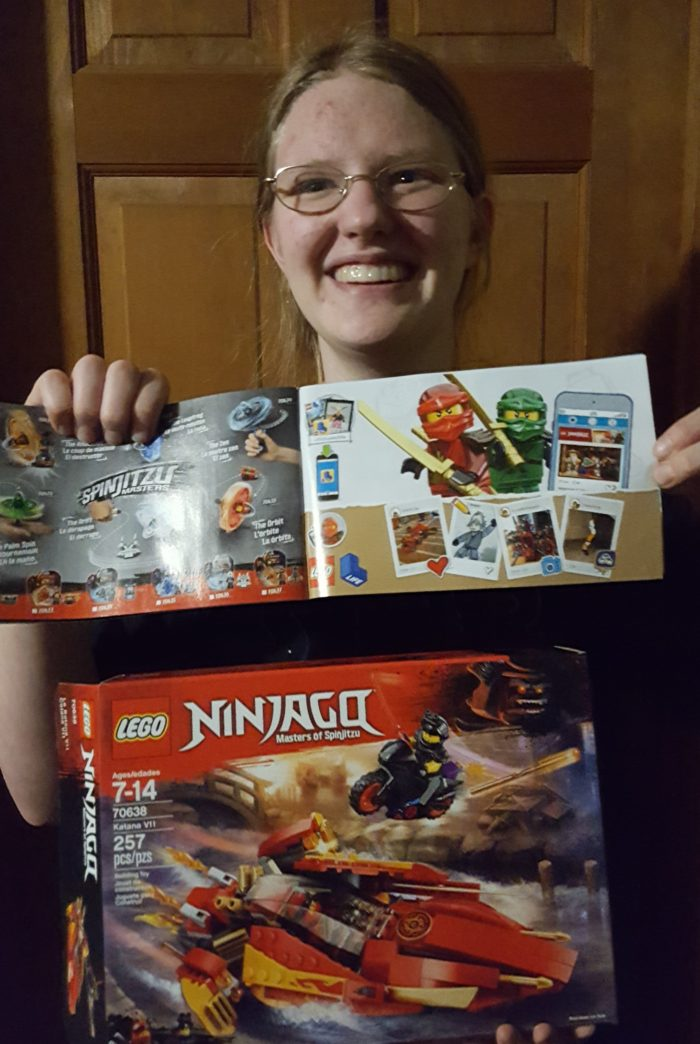 Woman has art featured in Lego Instruction manuals in new Sons of Garmadon sets