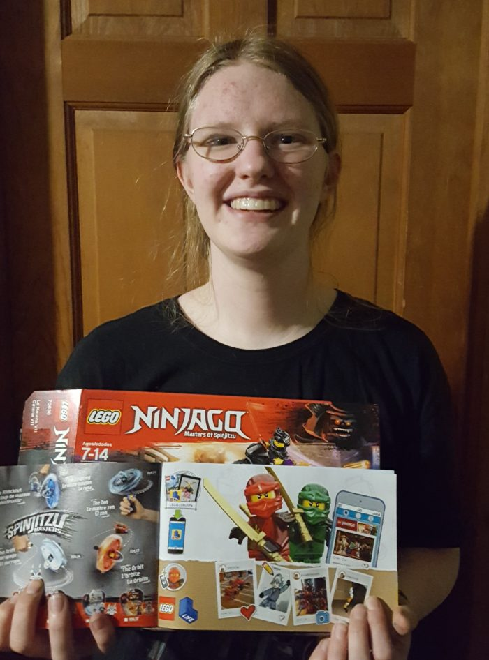 Girl gets her art featured in the Lego Manual