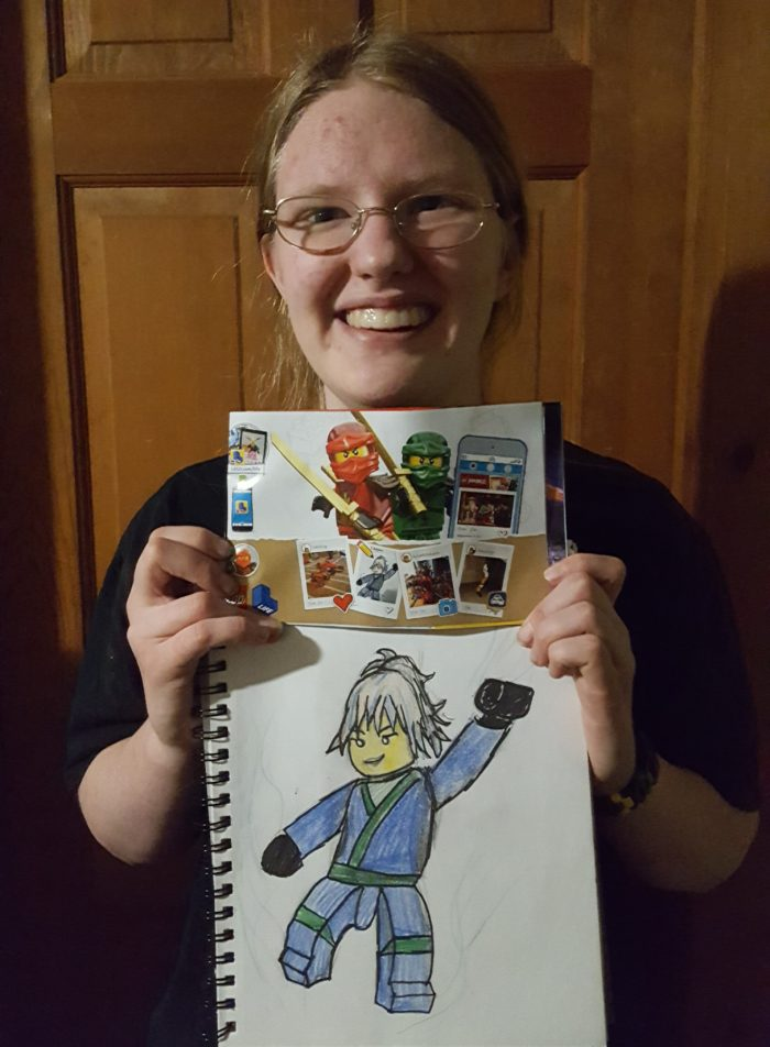 Local WIsconsin artist featured in Lego Sons of Garmadon Lego Instruction Manuals