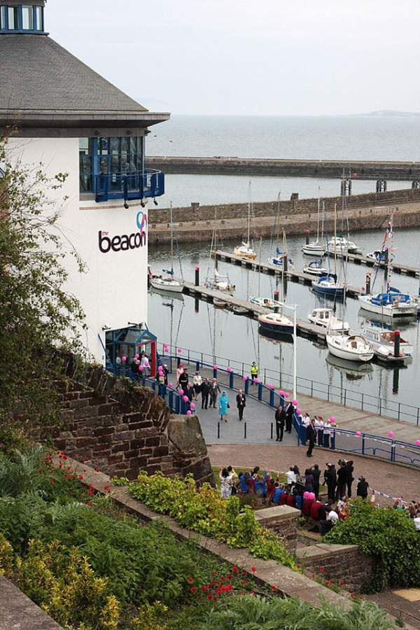 Museum date ideas in Cumbria image the Beacon ships boats water people lighthouse