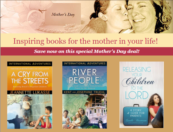 Mother's Day book sale A Cry from the Streets River People Releasing Your Children To The Lord