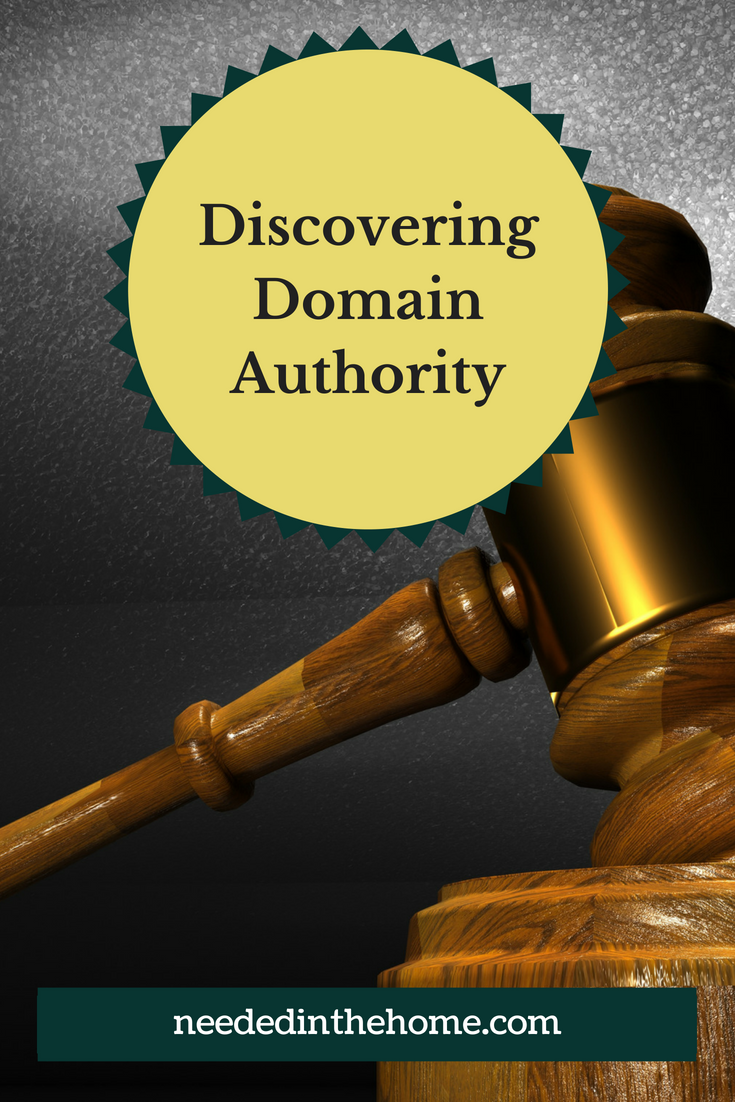 Discovering Domain Authority eBook by Amy Marohl at neededinthehome image gavel from judge desk official seal