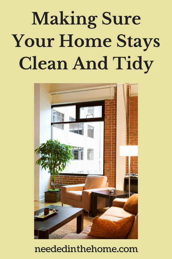 Making Sure Your Home Stays Clean And Tidy image clean living room neededinthehome