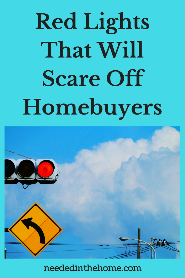 Red Lights That Will Scare Off Homebuyers image red traffic light neededinthehome