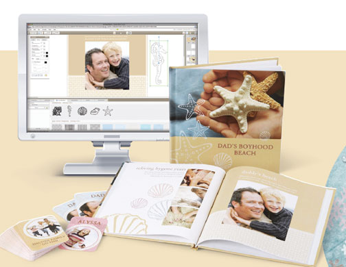 Moving with your photos image photos on computer and in books
