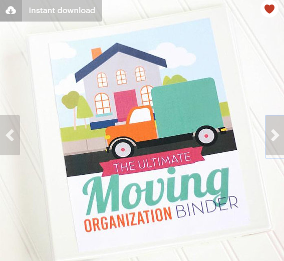 The Ultimate Moving Organization Binder