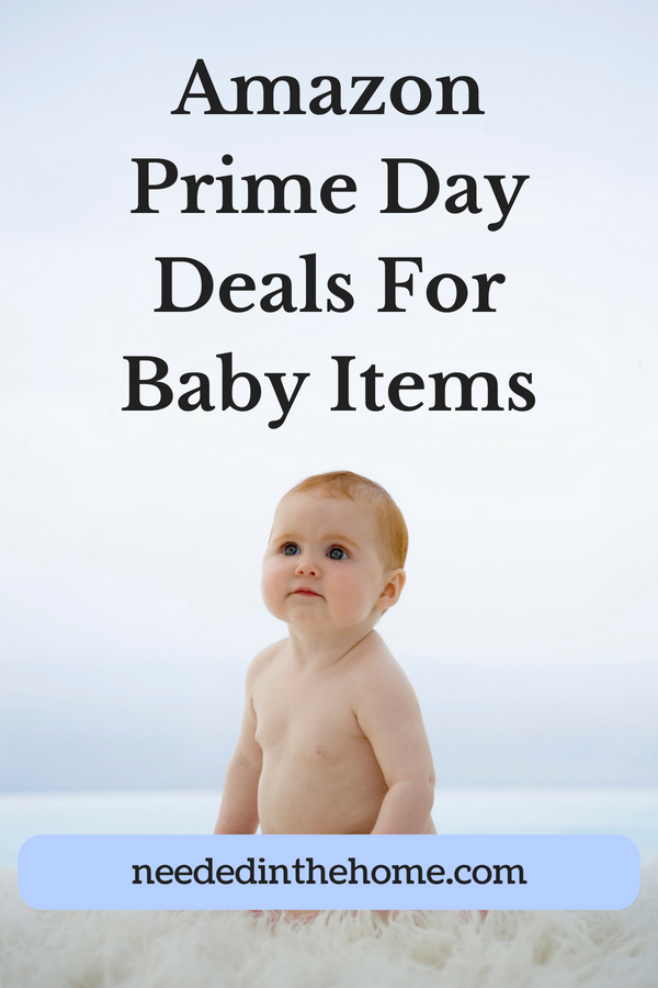 Amazon Prime Day Deals For Baby Items image red haired baby sitting up neededinthehome