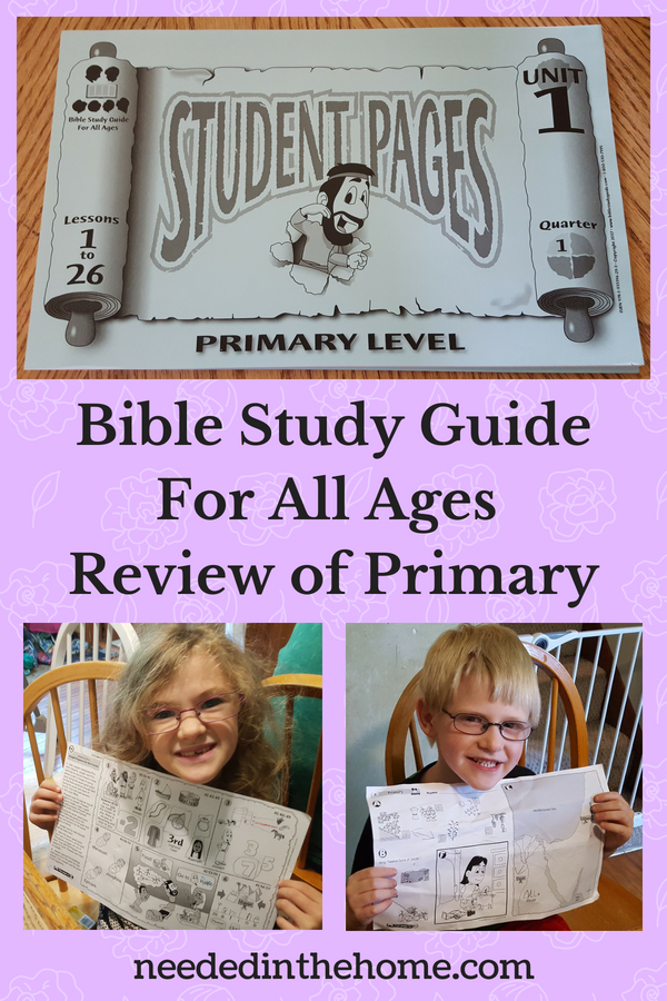Bible Study Guide For All Ages Review of Primary girl boy worksheets neededinthehome