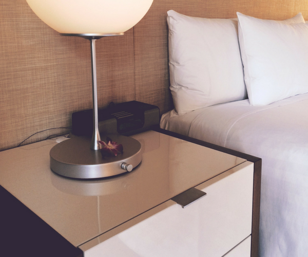 Shop for a new bed new mattress table stand lamp alarm clock