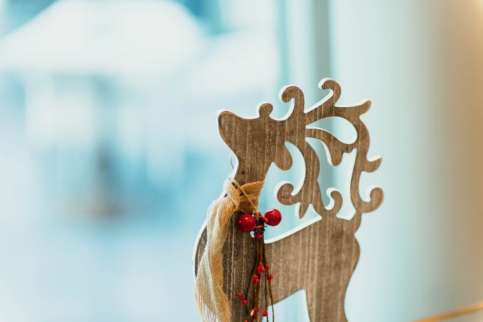 Christmas at any time - The 12-Months Of Christmas: Celebrating The Big Day At Any Time image wooden reindeer decor