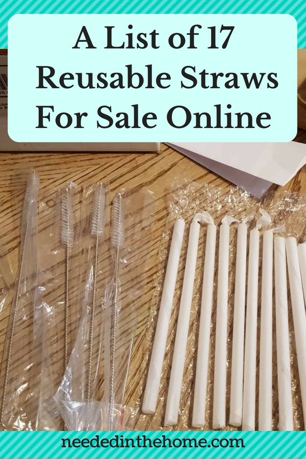 A list of 17 reusable straws for sale online image glass straws wrapped in tissue paper and cleaning brushes neededinthehome