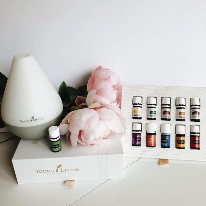 Young Living Thieves Products diffuser starter kit