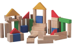 Gifts for a six year old boy wooden blocks