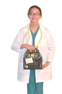 Gifts for a six year old boy doctor coat scrubs stethoscope doctor bag