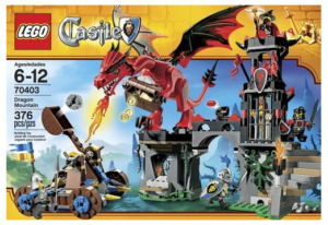 Gifts for a six year old boy Lego Castle set