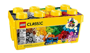 Gifts for a six year old boy Lego Classic bricks