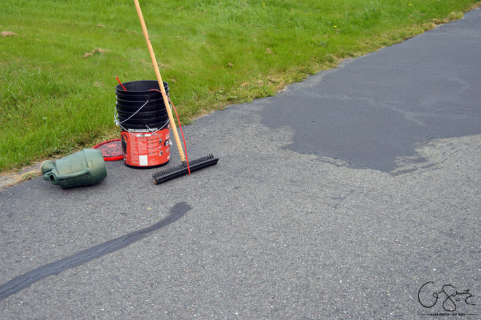Favorite driveway sealer for an asphalt or blacktop driveway to use with squeegee brush and watering can