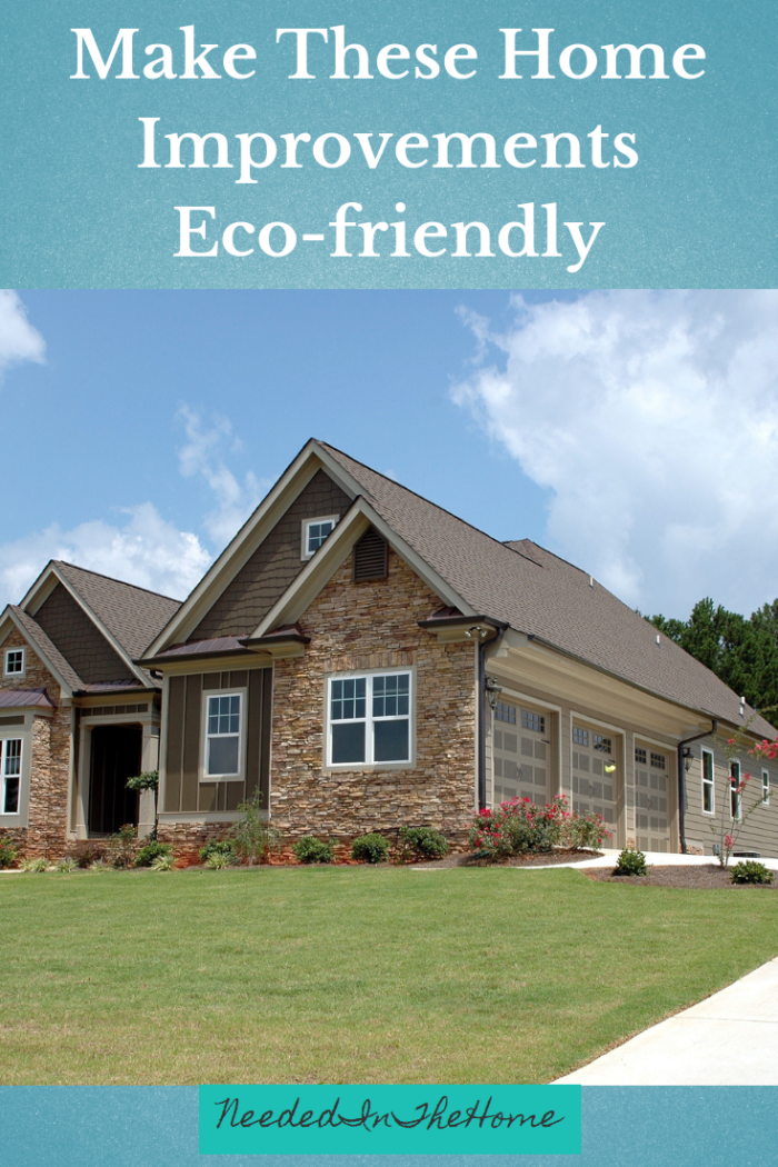 Make These Home Improvements Eco-friendly nicely landscaped lawn neededinthehome