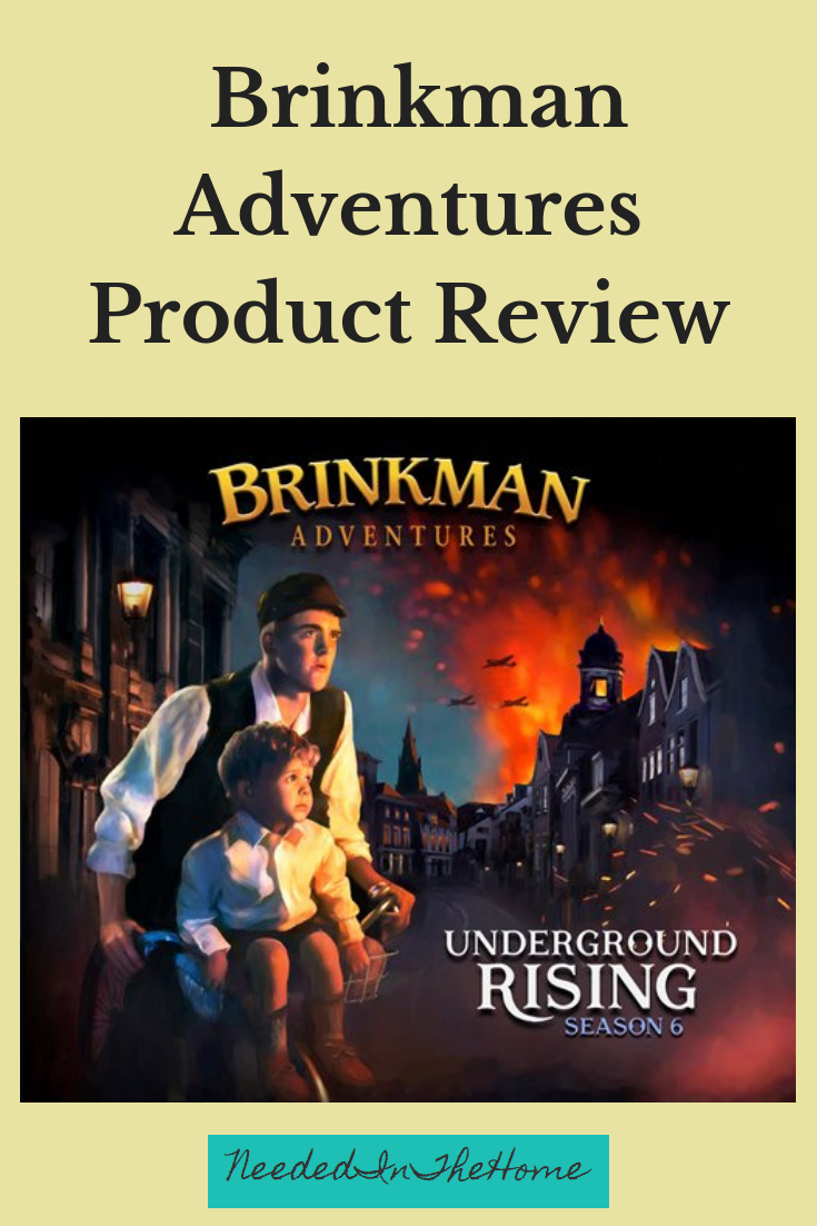 Brinkman Adventures Product Review Underground Rising digital product image photo neededinthehome