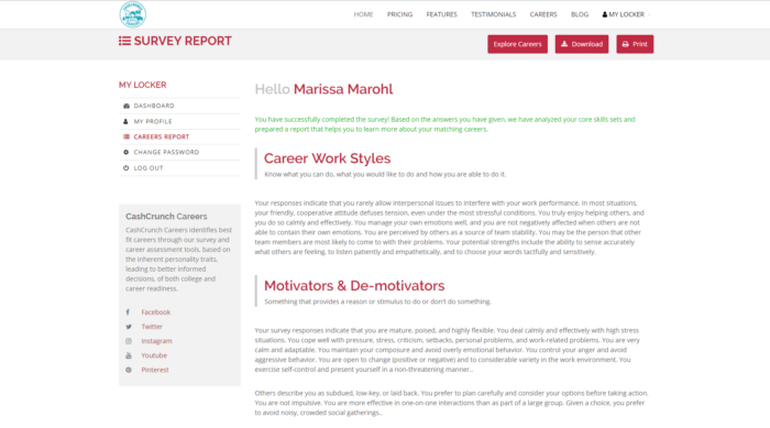 Cash Crunch Games Survey Report Career Work Styles Motivators and De-Motivators