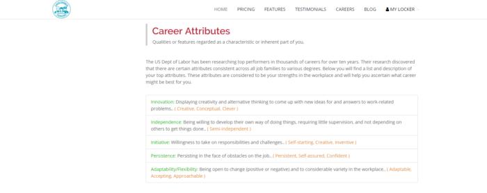 CashCrunch Careers Career Attributes