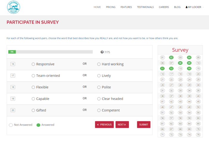 CashCrunch Careers participate in survey for career possibilities