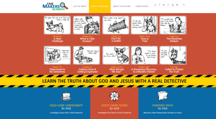 Forensic Faith For Kids Case Makers Academy screeen shot learn the truth about God and Jesus with a real detective