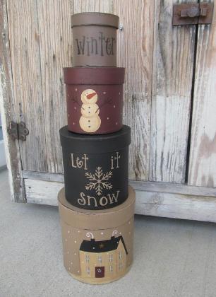 Snowman bathroom sets stacking boxes winter snowman let it snow snowflake house