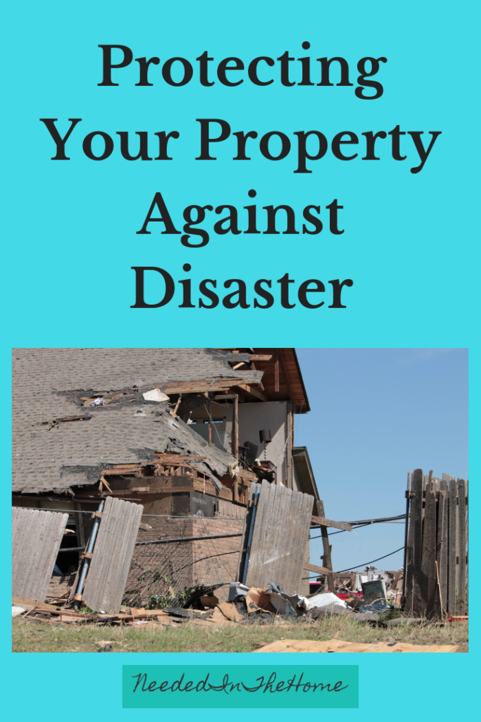 Protecting Your Property Against Disaster home hit by a tornado neededinthehome