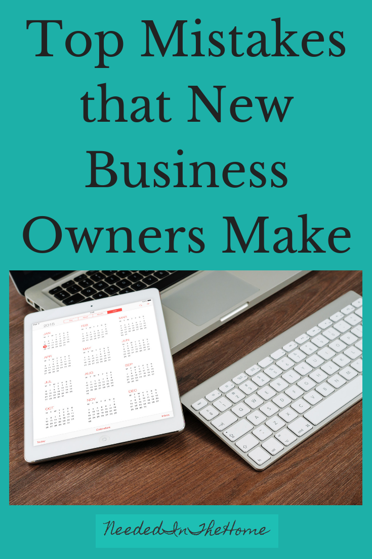 Top Mistakes that New Business Owners Make electronic calendar and keypad neededinthehome