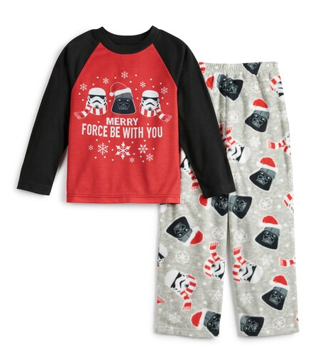 Boys Star Wars Merry Force be with you pajama set