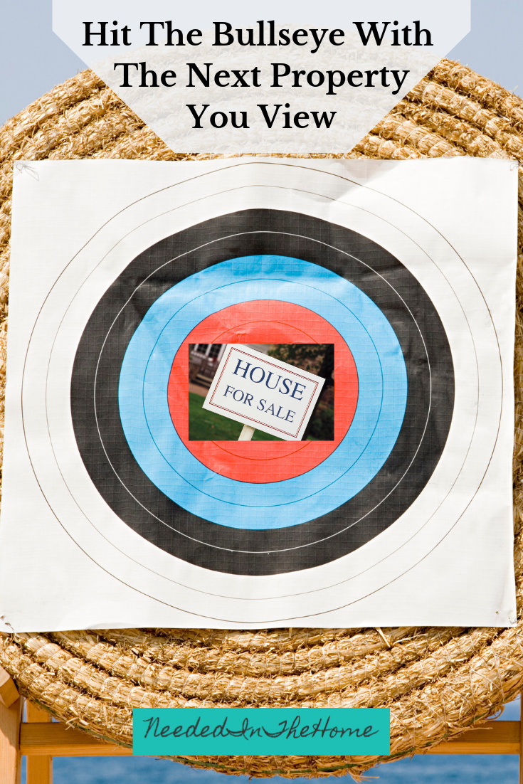 Hit The Bullseye With The Next Property You View House For Sale on a target neededinthehome