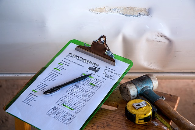 Insurance and your home-based business clipboard of repairs to be done by a licensed professional