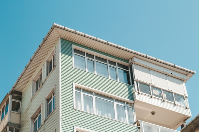 Before purchasing any property home inspectors view upward of a 4 story apartment building