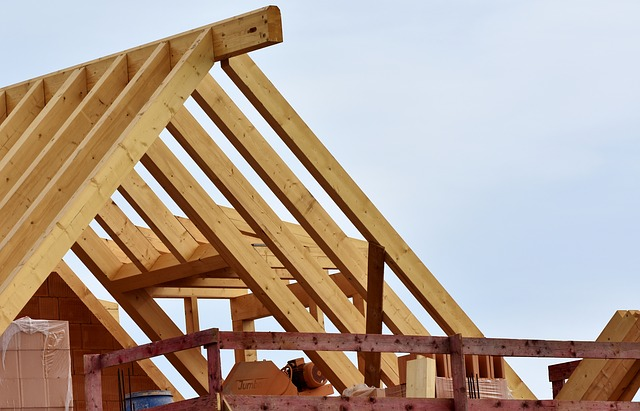 Home Improvements to try new roof remodeling construction wooden slats roof built