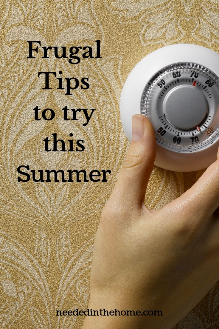 Frugal Tips To Try This Summer
